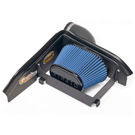 Base - SynthaMax Dry Filter - w/o Intake Tube - Installs In 30 Minutes - Blue - AirAid Intake System