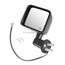 Omix-Ada 11002.25 Side View Mirror 1