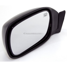 Omix-Ada 12035.21 Side View Mirror 1