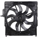 BuyAutoParts 19-21137AN Cooling Fan Assembly 1