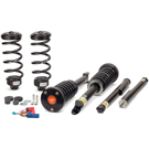 With Airmatic - Without 4Matic - Front and Rear Kit with Coils Springs and Shock Absorbers