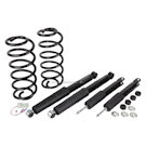 Short Wheelbase - Arnott Coil Spring Conversion Kit with Bilstein Shocks