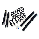 Short Wheelbase - Arnott Value Coil Spring Conversion Kit with EBM