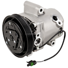 Smart ForTwo New OEM Compressor w Clutch