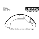 Centric Parts 111.07952 Brake Shoe Set 2