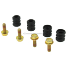 1984 Audi 5000 Disc Brake Hardware Kit 2