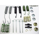 1978 Chevrolet P20 Drum Brake Hardware Kit 1