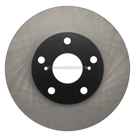 Centric Parts 120.44136 Brake Rotor 1