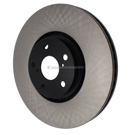 Centric Parts 120.44155 Brake Rotor 4