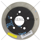 Centric Parts 120.44195 Brake Rotor 1