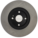 Centric Parts 120.45061 Brake Rotor 1