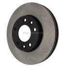Centric Parts 120.50014 Brake Rotor 4