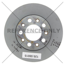 Centric Parts 120.58015 Brake Rotor 1