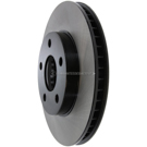 Centric Parts 120.62056 Brake Rotor 4
