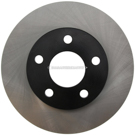 Centric Parts 120.62056 Brake Rotor 1