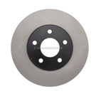 Centric Parts 120.62095 Brake Rotor 1