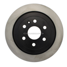 Centric Parts 120.62123 Brake Rotor 1