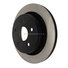 Centric Parts 120.67054 Brake Rotor 4