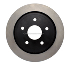 Centric Parts 120.67054 Brake Rotor 1