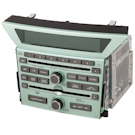 AM-FM-XM-AUX-6CD Radio and DVD Player with Face Code 1TV0 for Touring Models [OEM 39100-SZA-309 or 39100-SZA-A800]