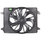 2.7L Engine - Radiator Fan Assembly Without Controller