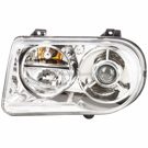 Left Headlight Assembly - with HID