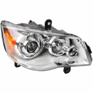 Right Headlight Assembly - E Marked Headlights with HID