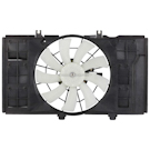 Plymouth Neon Cooling Fan Assembly
