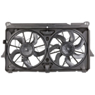 Radiator and Condenser Side - 4.3L  Models