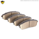 Bentley Arnage Brake Pad Set