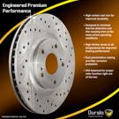 Brake Disc Rotor 71-01285 JL