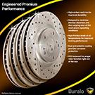 Brake Disc Rotor Set 71-87942 J6