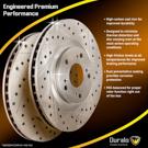 Brake Disc Rotor Set 71-87283 J4