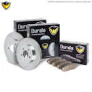 Lexus ES300 Brake Pad and Rotor Kit