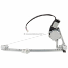 Mercedes_Benz 260E Window Regulator with Motor