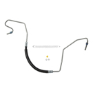 Edelmann 92006 Power Steering Pressure Line Hose Assembly 1