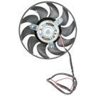 Audi 90 Cooling Fan Assembly
