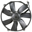 Mercedes_Benz 600SL Cooling Fan Assembly