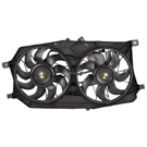 Ford Freestyle Cooling Fan Assembly