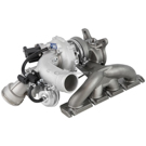 BuyAutoParts 40-30554AN Turbocharger 1