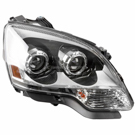 Right Headlight Assembly - without  HID