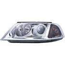 BuyAutoParts 16-80980H2 Headlight Assembly Pair 2