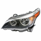 Left Driver Side - Halogen with White Turn Signal - xi Models to Prod Date 02-28-07