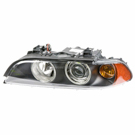 Left Driver Side - Halogen with Amber Turn Signal