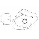 Pontiac Vibe Engine Gasket Set - Timing Cover