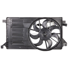 BuyAutoParts 19-20868AN Cooling Fan Assembly 1