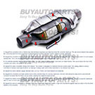 Catalytic Converter 45-04514 CA