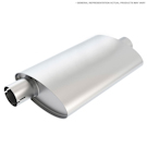 50 Series Muffler - CJ5 - Base - 2.2L