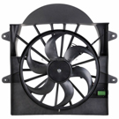 BuyAutoParts 19-20960AN Cooling Fan Assembly 1