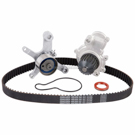 Timing Belt - Pulley - Water Pump and Seal Kit - 2.0L Engine - Converts To Mechanical